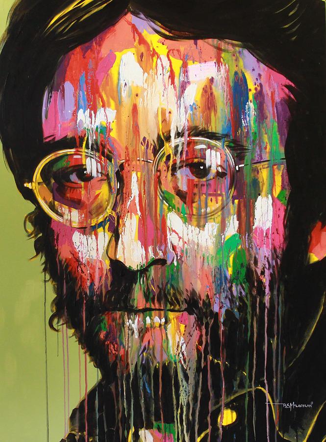 John Lennon Painting - John Lennon by Bruce McLachlan