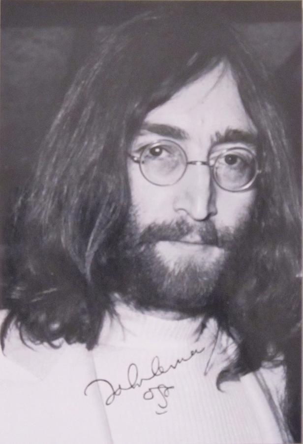 John Lennon Photograph - John Lennon by Donna Wilson