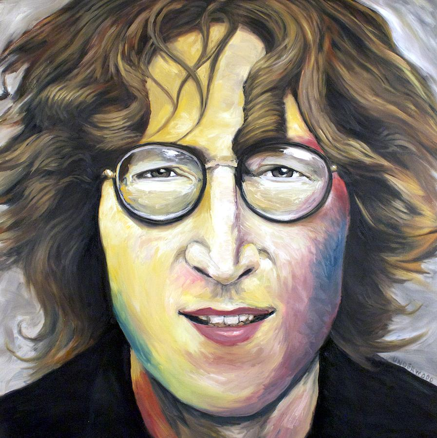 John Lennon Imagine Painting By Mike Underwood