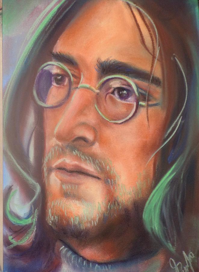 John Lennon Pastel - John Lennon by Mark Anthony