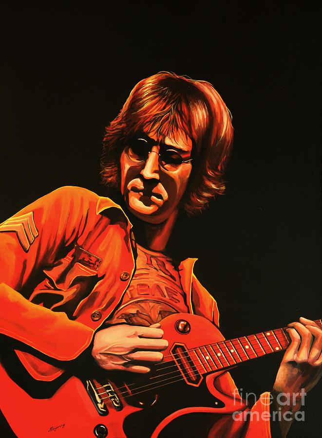 John Lennon Painting - John Lennon Painting by Paul Meijering