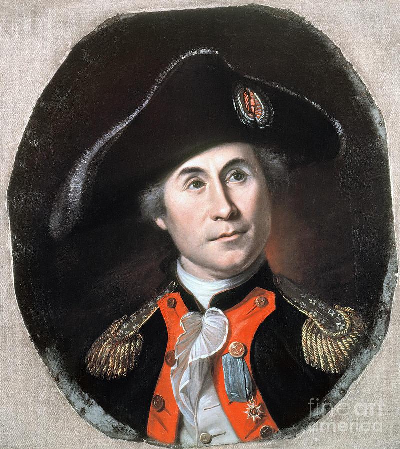 1781 Painting - John Paul Jones by Granger