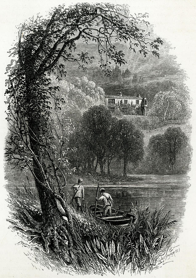 Ruskin Drawing - John Ruskin Home Of The English Art by Mary Evans Picture Library