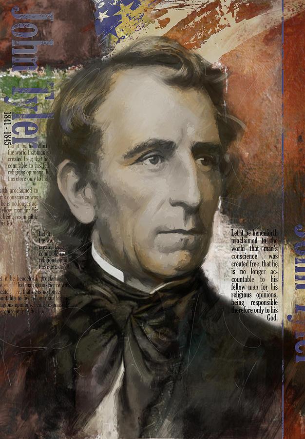 John Tyler Painting
