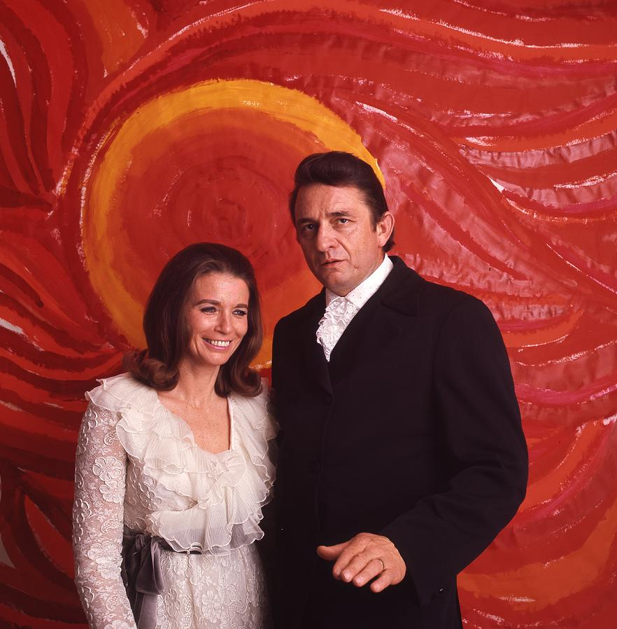Johnny Cash and June Carter Cash by Retro Images Archive