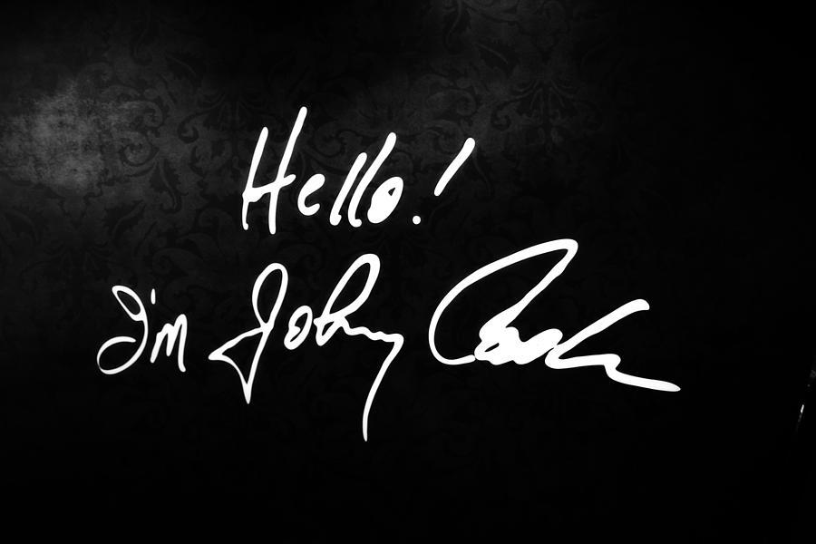 Johnny Cash Museum Photograph