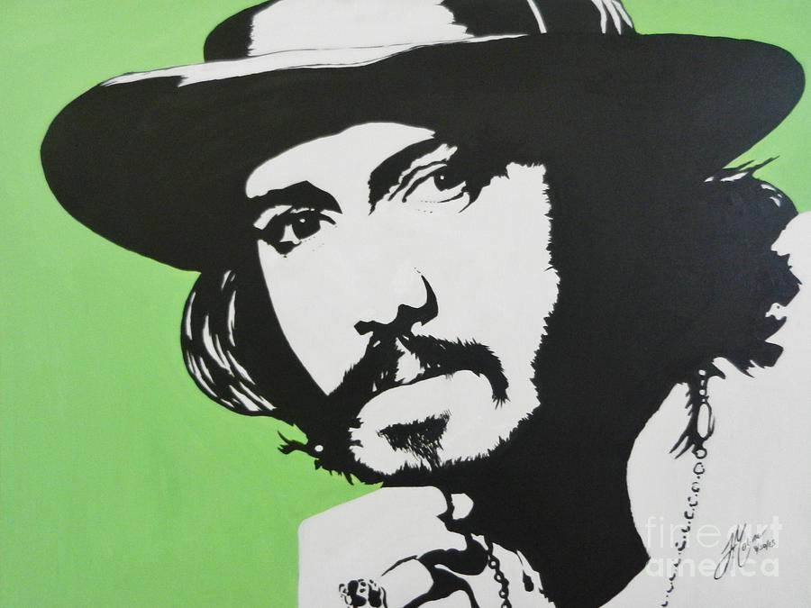 Johnny Deep Painting - Johnny Depp by Juan Molina