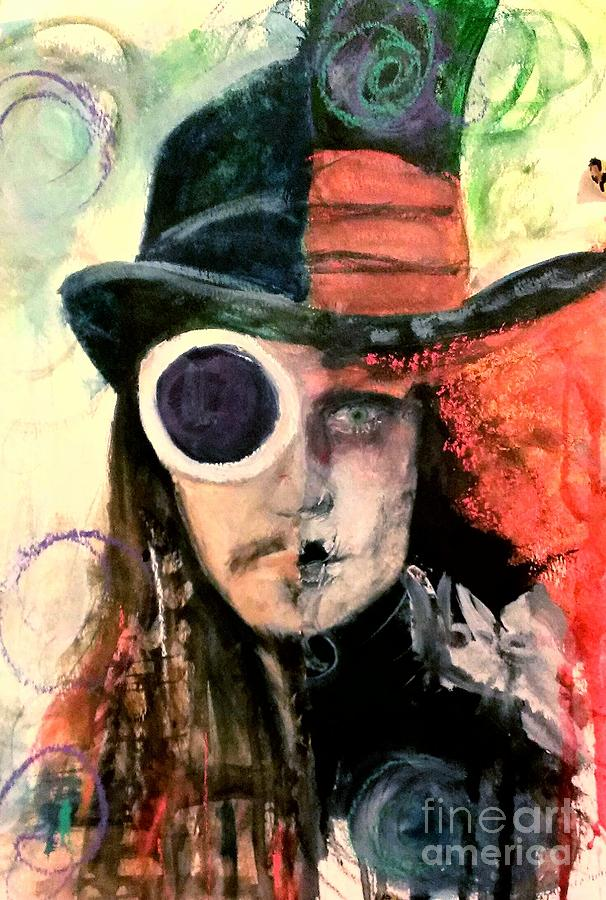 johnny depp painting by leah katherine