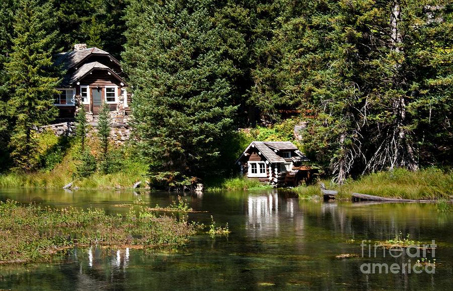 Idaho Photograph - Johnny Sack Cabin by Robert Bales