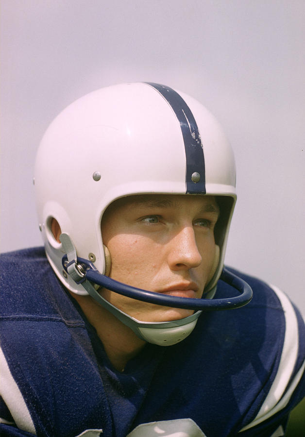 Marvin Newman Photograph - Johnny Unitas  by Retro Images Archive