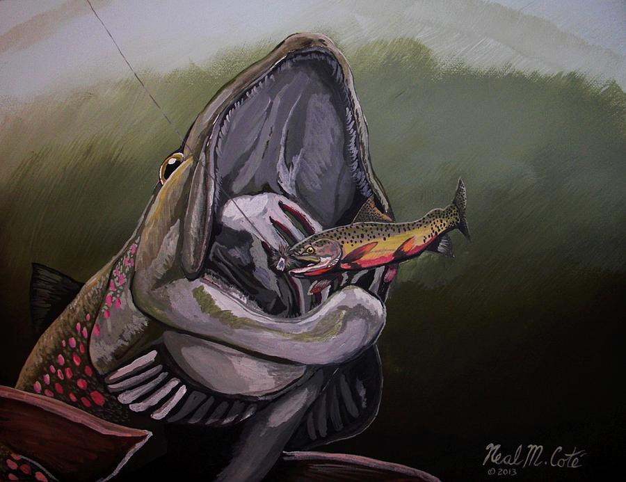 Blackfoot River Painting - Johnsrud Surprise by Neal Cote