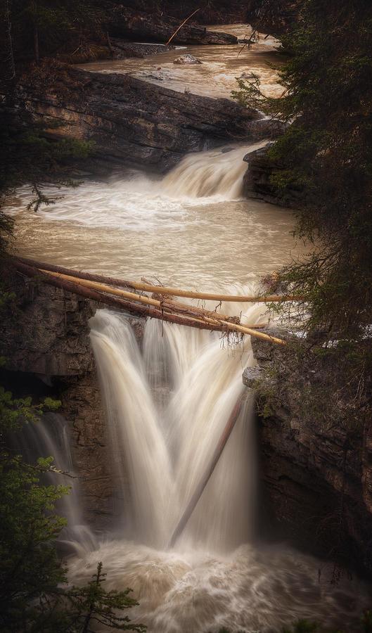 Canada Photograph - Johnston Canyon by Stuart Deacon