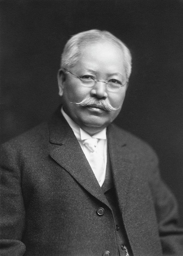 Human Photograph - Jokichi Takamine by Chemical Heritage Foundation