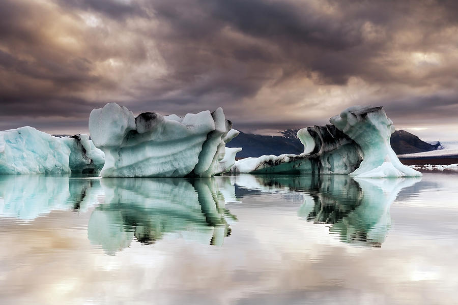 Jokulsarlon, Iceland Photograph by Gunnar Örn Árnason