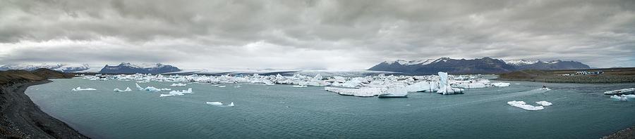 Jokulsarlon Panorama Photograph
