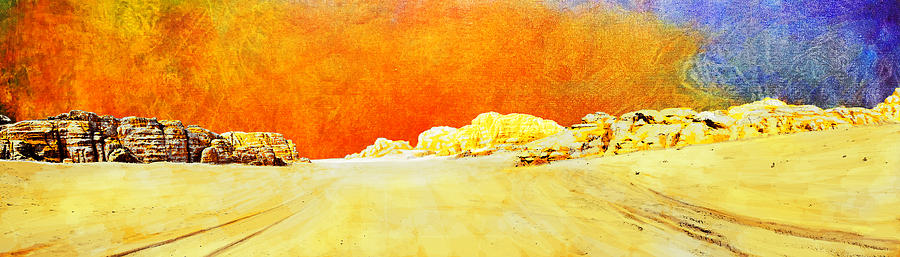 Petraquseir Amraum Er-rasas (kastrom Mefa'a)wadi Rum Protected Area Moroccomedina Of Fezmedina Of Marrakeshksar Of Ait-ben-haddouhistoric City Of Meknesarchaeological Site Of Volubilismedina Of Tétouan (formerly Known As Titawin)medina Of Essaouira (formerly Mogador)portuguese City Of Mazagan (el Jadida)rabat Painting - Jordan 06 by Catf