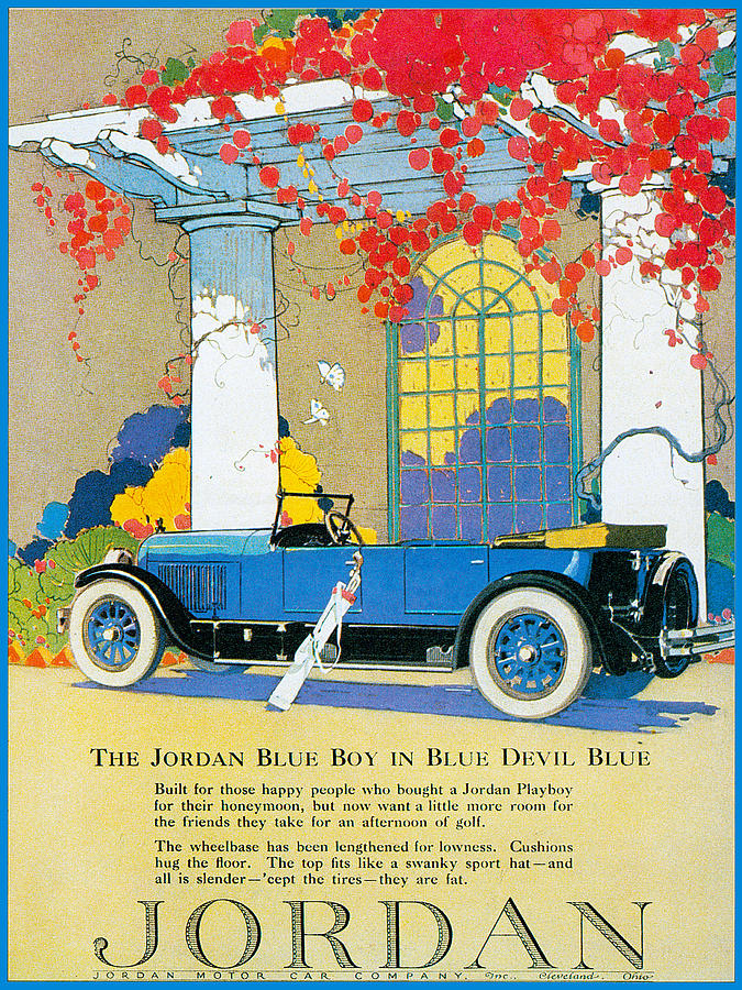 Jordan Motor Car Company Photograph by Vintage Automobile Ads and ...