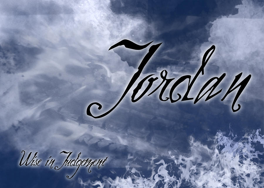 Birth Painting - Jordan - Wise In Judgement by Christopher Gaston