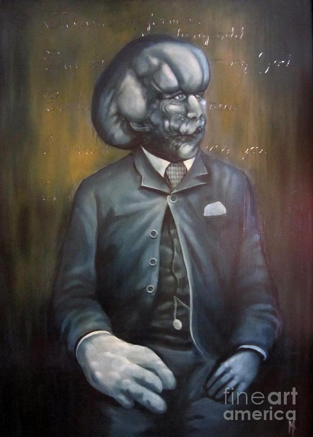 Joseph Merrick Painting By Michael Parsons