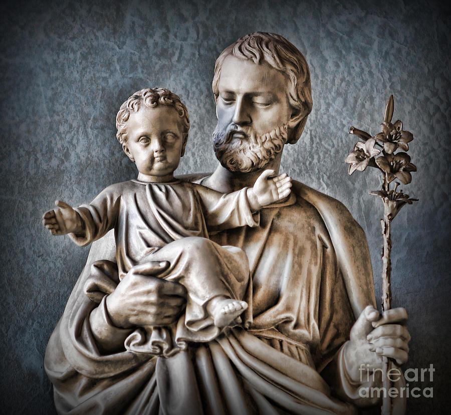 Mother Mary Photograph - Joseph Of Nazareth by Lee Dos Santos