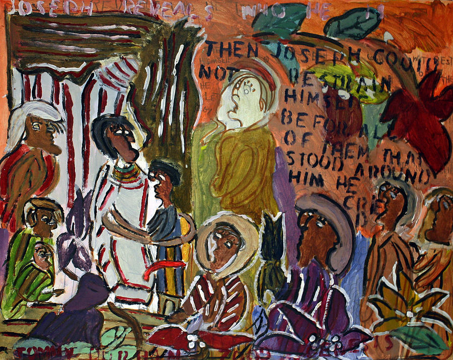 Stylized Painting - Joseph Reveals Who He Is by Tommy D