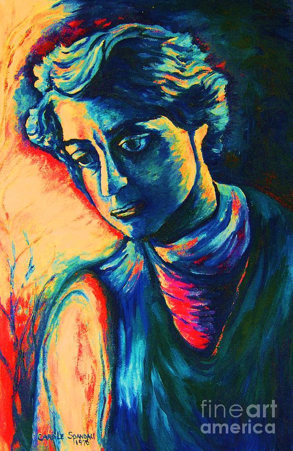 Joseph From The Bible Painting - Joseph The Dreamer by Carole Spandau