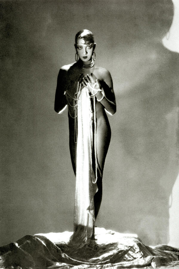Josephine Baker Photograph by George Hoyningen-Huene