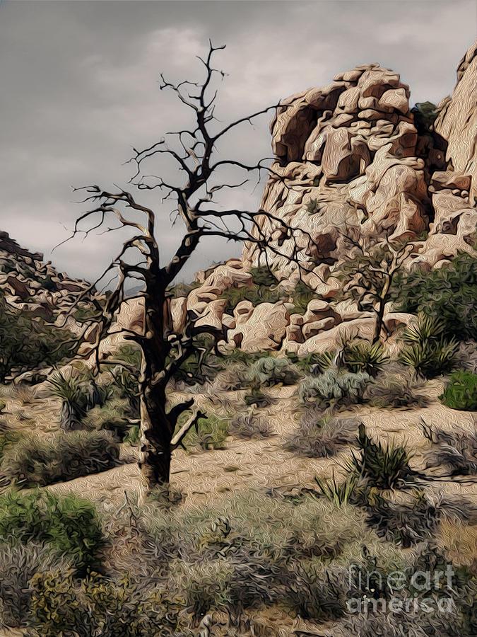 Joshua Tree Painting - Joshua Tree - 16 by Gregory Dyer