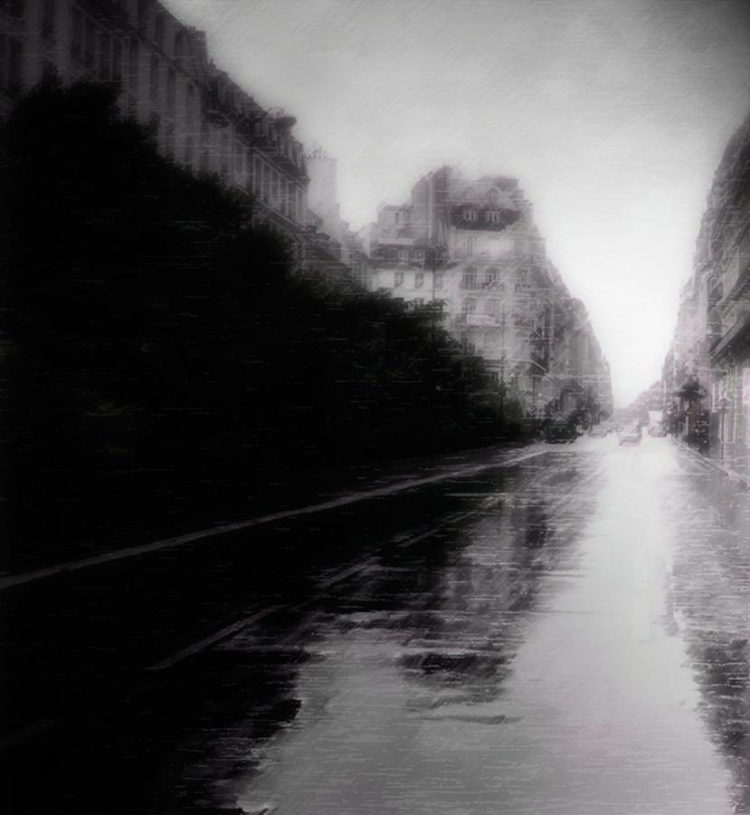 Photo Photograph - Jour De Pluie by David Fox