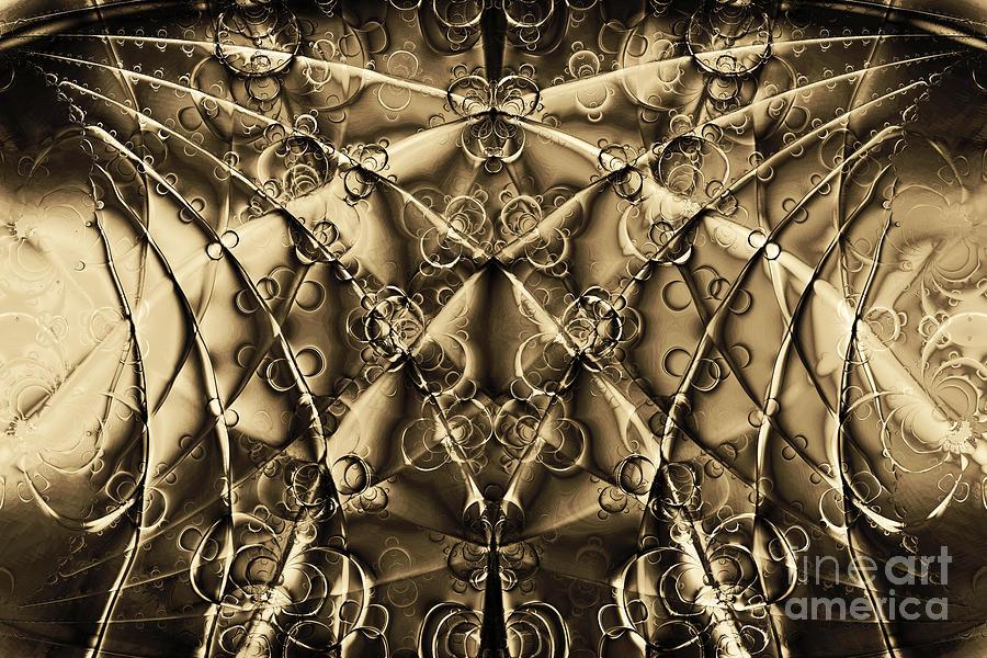 Fractal Digital Art - Journey 20130511v2 by Wingsdomain Art and Photography