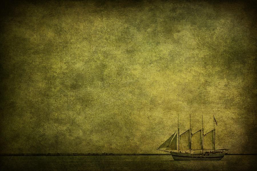 Boat Photograph - Journey Home by Andrew Paranavitana