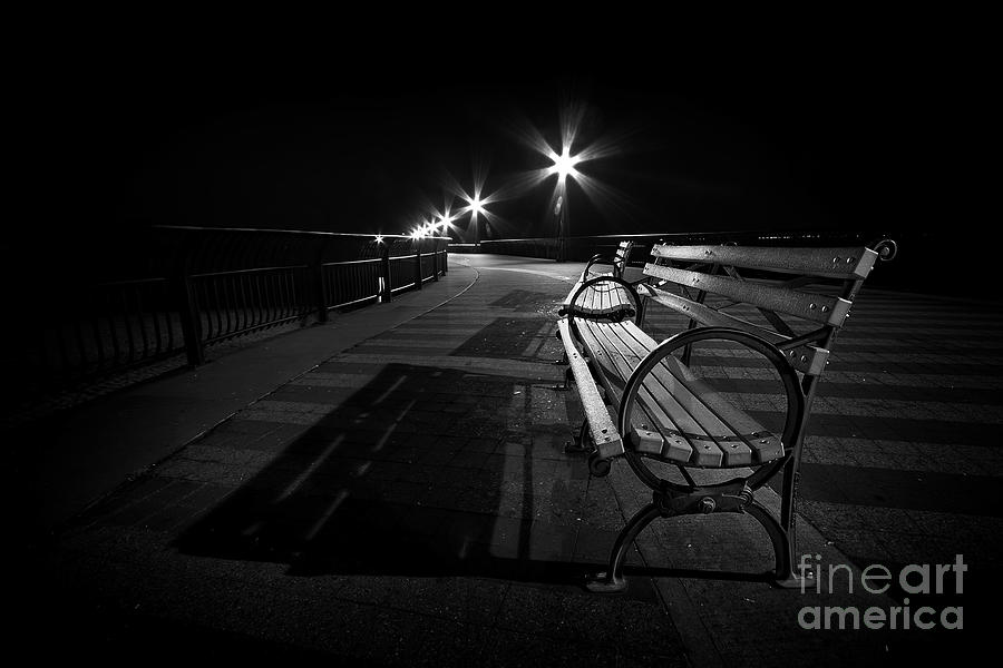After Dark Photograph - Journey Into Darkness by Evelina Kremsdorf