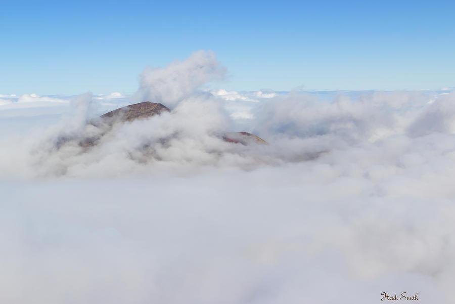 Mountain Photograph - Journey Into Heaven by Heidi Smith