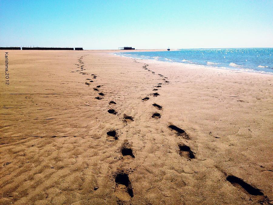 Beach Pyrography - Journey by KarishmaticArt -  Karishma Desai