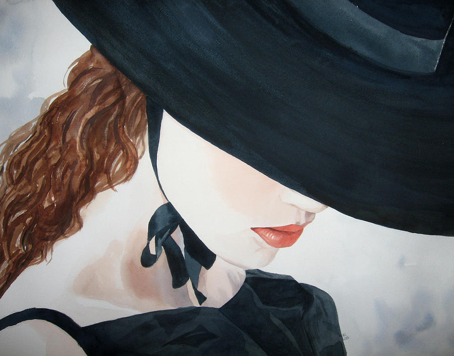 Portrait Of A Lady Painting - Journey by Michal Madison