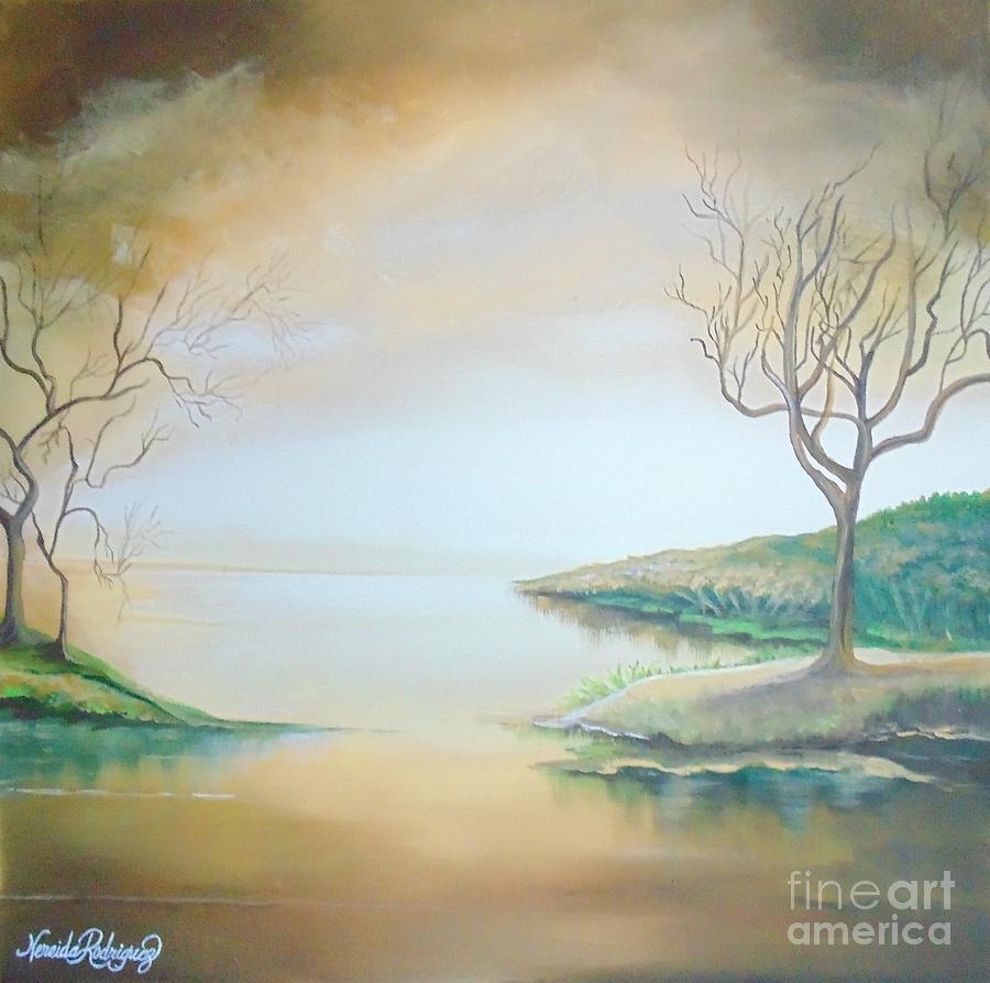 Journey Painting - Journey by Nereida Rodriguez