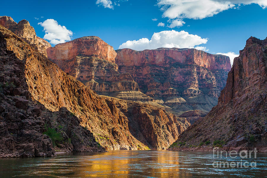America Photograph - Journey Through The Grand Canyon by Inge Johnsson