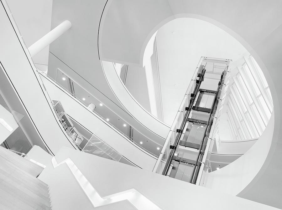 Architecture Photograph - Journey To The Light by Jeroen Van De