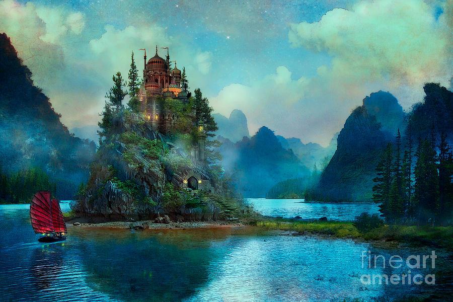 Digital Art Fantasy Landscape
