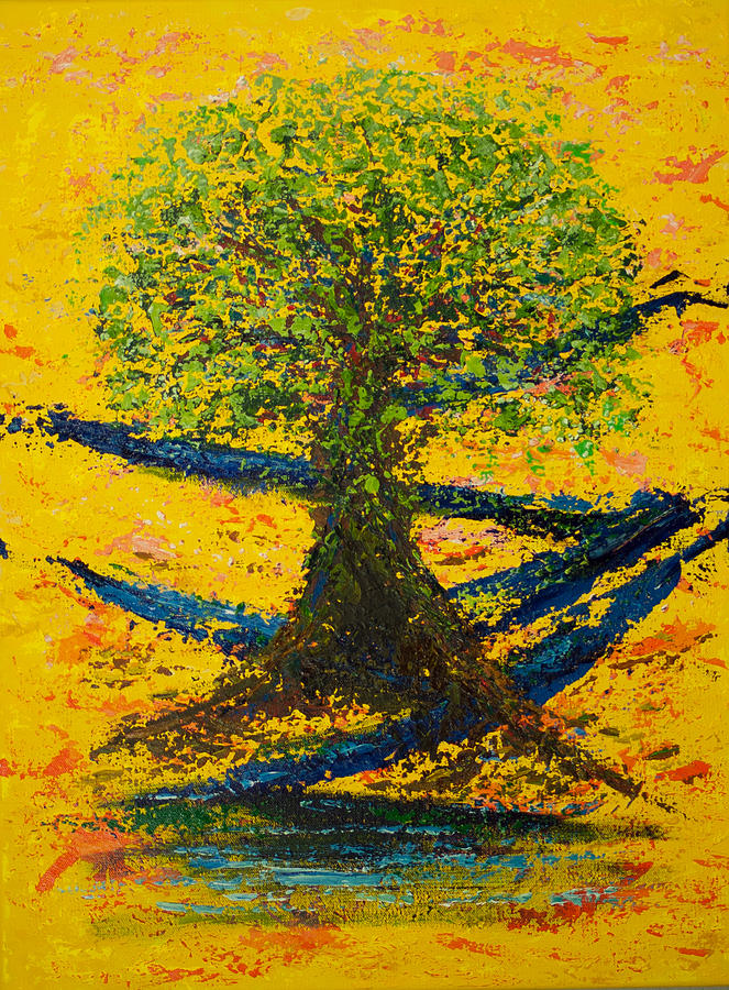 Acrylic Painting - Joy And Strength by William Killen