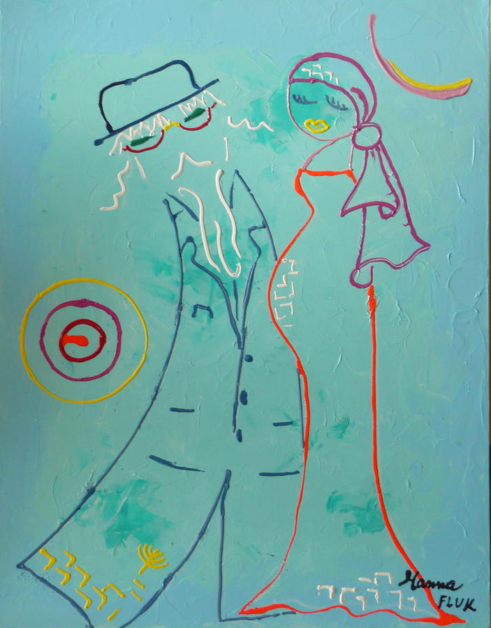 Urban Painting - Joy by Hanna Fluk