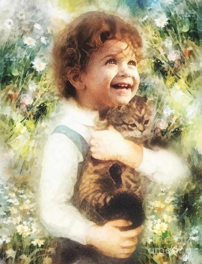 Joy Painting - Joy by Mo T
