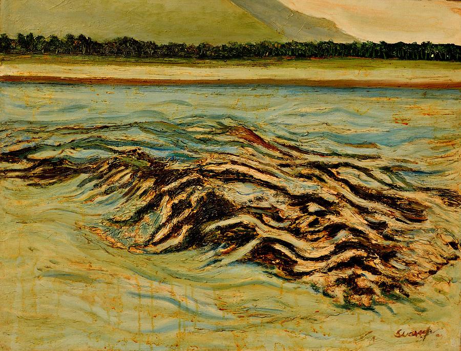 Portraits Painting - Joy Of Freedom-2 by Anand Swaroop Manchiraju