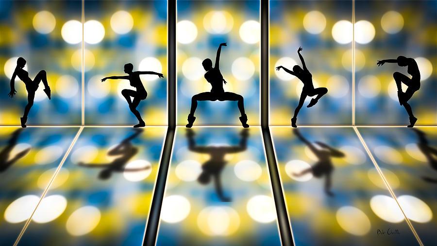 Dance Digital Art - Joy Of Movement by Bob Orsillo
