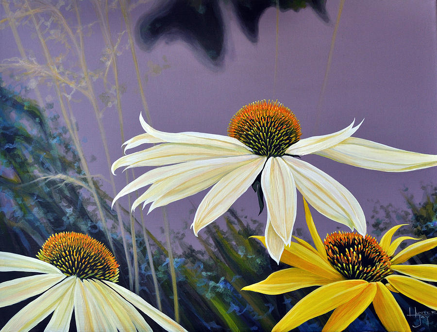 Botanical Painting - Jubilant by Hunter Jay