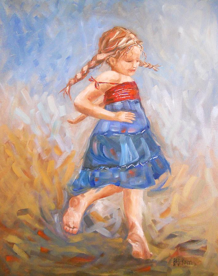 Child Painting - Jubilation by Brandi  Hickman