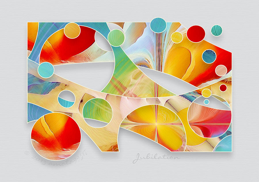 Jubilation Digital Art - Jubilation by Gayle Odsather