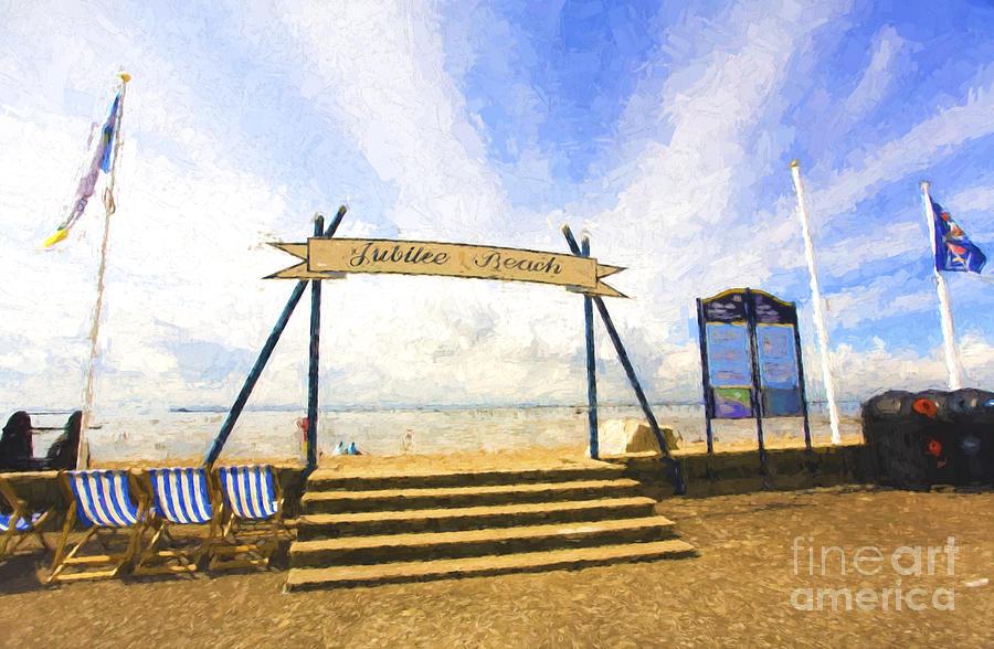 Southend On Sea Photograph - Jubilee Beach Southend On Sea by Sheila Smart Fine Art Photography