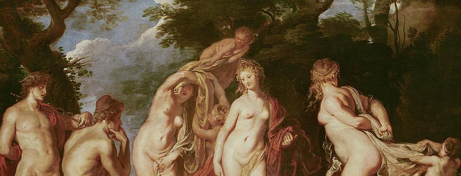 Rubens Painting - Judgement Of Paris by Peter Paul Rubens