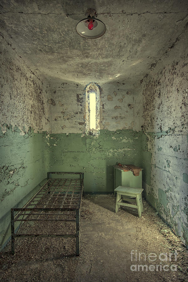 Penitentiary Photograph - Judgementality by Evelina Kremsdorf